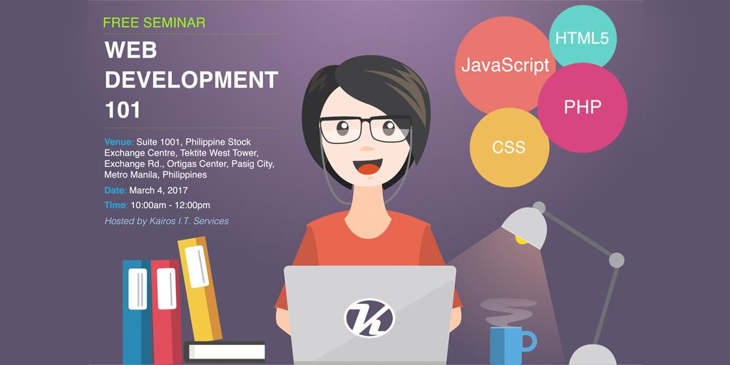 Free Seminar: Web Development 101