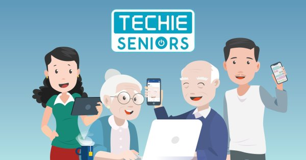 Techie Seniors image