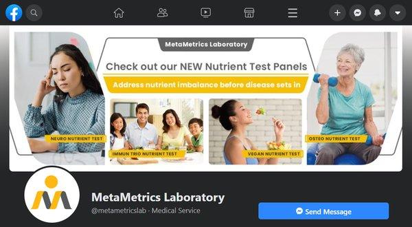 Kairos website - Portfolio page - MetaMetrics Laboratory