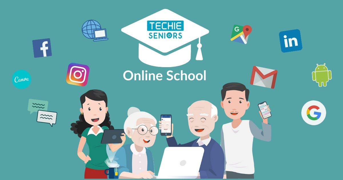 Techie Seniors Online Course